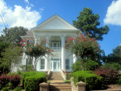 Historic House on Clifton Street in Camden, Arkansas (AR)