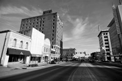 Downtown View of Fort Smith, Arkansas (AR)