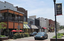 View of Downtown Jonesboro, Arkansas (AR)