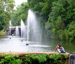 Fountains in Siloam Springs, Arkansas (AR)