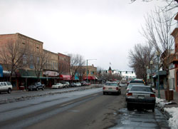 Downtown View of Delta, Colorado (CO)