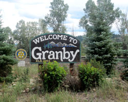 Welcome To Sign in Granby, Colorado (CO)