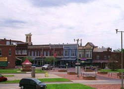 Downtown View of Fort Scott, Kansas (KS)