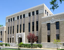 Lea County Courthouse in Lovington, New Mexico (NM)