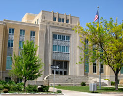 Roosevelt County Courthouse in Portales, New Mexico (NM)