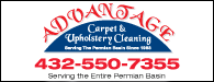 Advantage Carpet & Upholstery Cleaning: 432-550-7355 | Serving the Entire Premian Basin