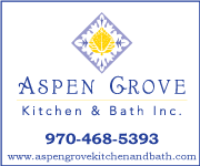 Aspen Grove: Kitchen & Bath Inc | 970-468-5393