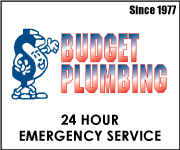 Budget Plumbing: 24 Hour Emergency Service | Since 1977