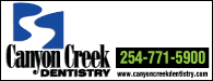 Canyon Creek Dentistry: 254-771-5900 | www.canyoncreekdentistry.com