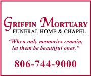 Griffin Mortuary: Funeral Home & Chapel | When only memories remain, let them be beautiful ones. | 806-744-9000