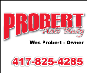 Probert Auto Body: Wes Probert - 417-825-4285