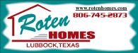 Roten Homes: Lubbock, Texas | 806-745-2873