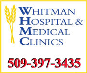 Whitman Hospital & Medical Center: 509-397-3435